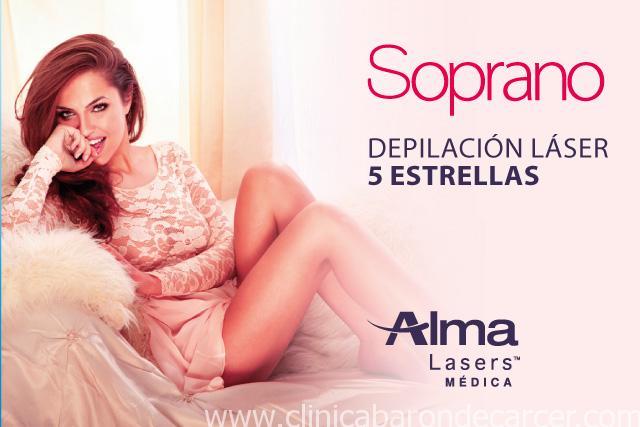 Depilación Láser Soprano A cinco estrellas en Valencia