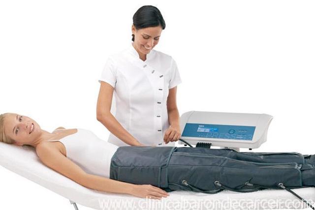 Tratamiento corporal con presoterapia en Valencia